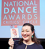 The Critics' Circle National Dance Awards 2015 <br /> at The Place, London, Great Britain <br /> 25th January 2016 <br /> <br /> <br /> Once again the event will also play host to the De Valois Award for Outstanding Achievement and the Dance UK Industry Award, given in memory of Jane Attenborough, for both of which there are no prior nominations. There were two winners picture is Caroline Miller Dance UK. <br /> <br /> <br /> Photograph by Elliott Franks <br /> Image licensed to Elliott Franks Photography Services