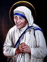 Pope Francis canonization of Mother Teresa of Kolkata, Vatican, September 4, 2016.