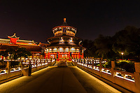 China Pavilion, World Showcase, Epcot, Walt Disney World, Orlando, Florida USA