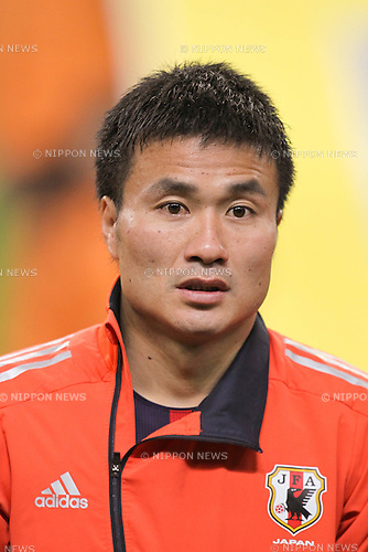 Yasuyuki Konno (JPN), .FEBRUARY 29, 2012 - Football / Soccer : 2014 FIFA World Cup Asian Qualifiers Third round Group C match between Japan 0-1 Uzbekistan at Toyota Stadium in Aichi, Japan. (Photo by Akihiro Sugimoto/AFLO SPORT) [1080]