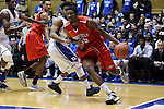 15 November 2014: Fairfield's Coleman Johnson (35). The Duke University Blue Devils hosted the Fairfield University Stags at Cameron Indoor Stadium in Durham, North Carolina in an NCAA Men's Basketball exhibition game. Duke won the game 109-59.