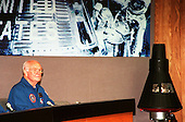 STS-95 Payload Specialist John H. Glenn Jr., a senator from Ohio and one of the original seven Project Mercury astronauts, participates in a media briefing at the Kennedy Space Center Press Site Auditorium  on November 8, 1998 before returning to the Johnson Space Center in Houston, Texas. The STS-95 mission ended with landing at Kennedy Space Center's Shuttle Landing Facility at 12:04 p.m. EST on Nov. 7. Also participating in the briefing were the other STS-95 crew members: Mission Commander Curtis L. Brown Jr.; Pilot Steven W. Lindsey; Mission Specialist and Payload Commander Stephen K. Robinson; Mission Specialist Scott E. Parazynski; Mission Specialist Pedro Duque, with the European Space Agency (ESA); and Payload Specialist Chiaki Mukai, with the National Space Development Agency of Japan (NASDA). The mission included research payloads such as the Spartan-201 solar-observing deployable spacecraft, the Hubble Space Telescope Orbital Systems Test Platform, the International Extreme Ultraviolet Hitchhiker, as well as a SPACEHAB single module with experiments on space flight and the aging process..Credit: NASA via CNP