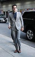 NEW YORK, NY-June 30: Zachary Quinto at the Late Show with Stephen Colbert to talk about new Star Trek movie Beyond in New York. NY June 30, 2016. Credit:RW/MediaPunch