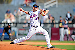 2 March 2010: New York Mets' relief pitcher Bobby Parnell on the mound against the Atlanta Braves on the Opening Day of Grapefruit League play at Tradition Field in Port St. Lucie, Florida. The Mets defeated the Braves 4-2 in Spring Training action. Mandatory Credit: Ed Wolfstein Photo
