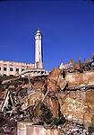 Lighthouse on Alcatraz Island