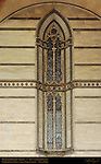 Mullioned Gothic Window, 14th c. Unfinished Nave, Cathedral of Siena, Santa Maria Assunta, Siena, Italy