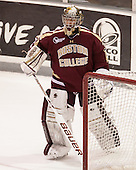 Parker Milner (BC - 35) - The Providence College Friars tied the visiting Boston College Eagles 3-3 on Friday, December 7, 2012, at Schneider Arena in Providence, Rhode Island.