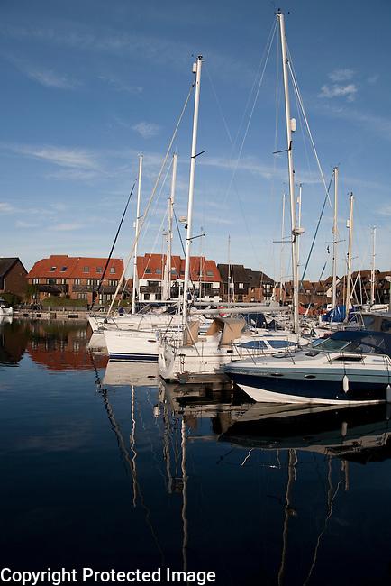 Hythe Marina; Southampton; England; UK