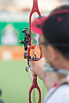 RIO DE JANEIRO - 10/9/2016:  Kevin Evans competes in the Individual Compound - Open at the Sambodromo during the Rio 2016 Paralympic Games. (Photo by Matthew Murnaghan/Canadian Paralympic Committee
