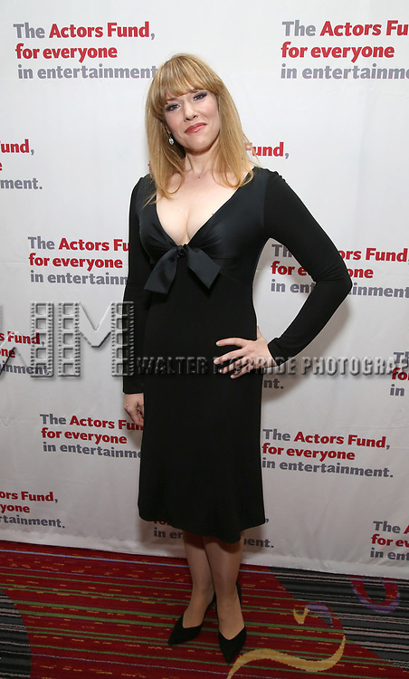 Emily Skinner attends The Actors Fund Annual Gala at the Marriott Marquis on 5/8//2017 in New York City.