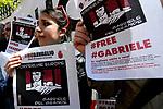 Libertà per Gabriele Del Grande