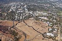 aerial photograph Stanford Research Park, Palo Alto, Santa Clara county, California