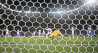 "England""s Joe Hart Lets in Italy Goal Scored By Claudio Marchisio left"