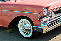 Automotive - Smooth and Pampered for the most part. Vintage cars and vehicles, classic cars, unusual or rare, Muscle cars and hot rods. Badges, ornamental detail, design elements, hood ornaments, grills, tail lights, fins and more.