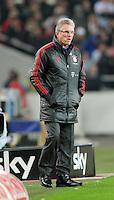 Fussball 1. Bundesliga:  Saison   2011/2012    16. Spieltag    11.12.2011 VfB Stuttgart - FC Bayern Muenchen   Trainer Jupp Heynckes  (FC Bayern Muenchen)