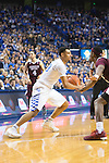 UK guard, Jamal Murray, looks for an open man in their game against Miss. St. at Rupp Arena in Lexington, Ky. on Tuesday, January 12, 2016. Photo by Josh Mott | Staff.