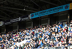 St Johnstone v St Mirren....21.03.15<br /> St Johnstone fans watch the game<br /> Picture by Graeme Hart.<br /> Copyright Perthshire Picture Agency<br /> Tel: 01738 623350  Mobile: 07990 594431