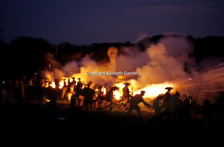 Revolutionary War reenactment at Morven Park, Leesburg, VA