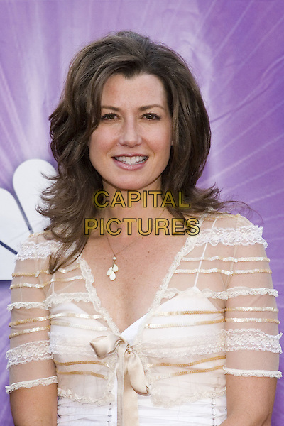 25 July 2005 - Los Angeles, California - Amy Grant.  2005 NBC Network All Star Celebration Arrivals held at the Century Club.  Photo Credit: Zach Lipp/AdMedia