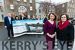 Pictured at the launch of Kerry Expo 2017 are from left: Noel HealyTLI Group, Bridget Fitzgerald, KCC, TJ O'Connor, Bons Secours Hospital, Eamon O'Rielly, NEWKD, Marian O'Mahony, Ballyseedy Garden Centre, Noel Ryan, Kerry Airport, Edmond Hearty, Dairymaster, Liz Maher, Organiser and Kerry County Manager Moira Murrell.