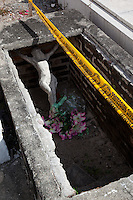 Mexican Cemetery 14 - Photograph taken in El Panteón Cementario, also know as Cementario Viejo or old cemetery, in Puerto Vallarta, Mexico.