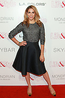 WEST HOLLYWOOD, CA, USA - OCTOBER 23: Allison Holker arrives at the Life & Style Weekly 10 Year Anniversary Party held at SkyBar at the Mondrian Los Angeles on October 23, 2014 in West Hollywood, California, United States. (Photo by David Acosta/Celebrity Monitor)