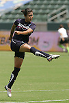22 August 2009: LA's Han Duan (CHN). Sky Blue FC defeated the Los Angeles Sol 1-0 at the Home Depot Center in Carson, California in the inaugural WPS Championship game.