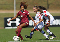 Maryland Women's Soccer vs Florida State, October 21, 2012