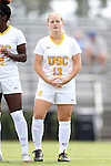 06 September 2015: USC's Savannah Levin. The University of North Carolina Tar Heels played the University of Southern California Trojans at Koskinen Stadium in Durham, NC in a 2015 NCAA Division I Women's Soccer match. UNC won the game 2-1.