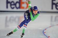 SPEED SKATING: STAVANGER: Sørmarka Arena, 29-01-2016, ISU World Cup, 1000m Ladies Division A, Marrit Leenstra(NED), ©photo Martin de Jong