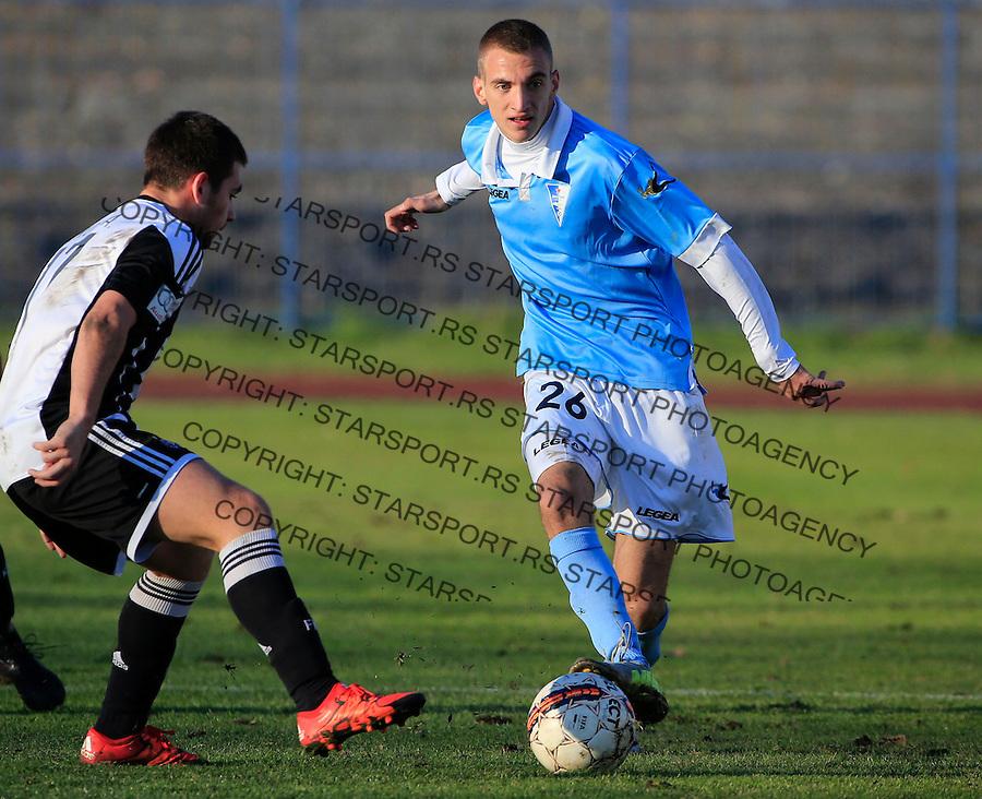 Fudbal Jelen Super League season 2015-2016<br /> Spartak v Partizan<br /> Marko Jondic and Andrija Zivkovic (L)<br /> Subotica, 29.11.2015.<br /> foto: Srdjan Stevanovic/Starsportphoto&copy;