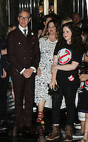 NEW YORK, NY-July 12: Paul Feig Melissa McCarthy, at Gilda's Club & Ghostbuster Cast Lighting  at Empire State Building  in New York. NY July 12, 2016. Credit:RW/MediaPunch