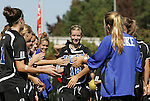 26 October 2008: Duke's Kelly McCann. The Duke University Blue Devils defeated the Clemson University Tigers 6-0 at Koskinen Stadium in Durham, North Carolina in an NCAA Division I Women's college soccer game.