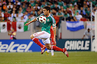Hector Moreno (15) of Mexico. Mexico defeated Guatemala 2-1 during a quarterfinal match of the 2011 CONCACAF Gold Cup at the New Meadowlands Stadium in East Rutherford, NJ, on June 18, 2011.
