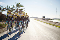Team Lotto Jumbo winter training camp<br /> Moj&aacute;car, Spain, January 2015