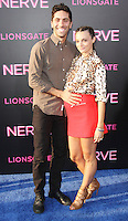 NEW YORK, NY-July 12: Nev Schulman, Laura Perlongo at Lionsgate presents the World Premiere of NERVE   at SVA Theater in New York. NY July 12, 2016. Credit:RW/MediaPunch