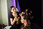 20.1.2015, Potsdam Now Fashion Week. Gezeigt werden moderne, exklusive Kollektionen f&uuml;hrender israelischer Designerinnen und Designer. Shani Zimmerman und Zion Anava interpretieren auf sehr unterschiedliche Weise elegante Ready-To-Wear. Danach geht es weiter mit der Kollektion des ebenfalls aus Tel Aviv stammenden, seit 2014 jedoch auch in Amsterdam vertretenen Labels Frau Blau. Efrat Kalig ist ber&uuml;hmt f&uuml;r ihre eindrucksvolle Couture und bildet den Abschluss der Schauen.<br /><br />Backstage vor der Show von Zion Anava