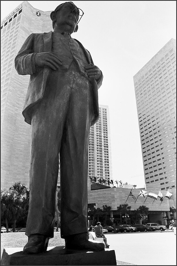 From &quot;Miami in Black an d White&quot; series<br /> Downtown Miami, FL