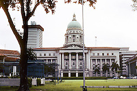 Singapore: The Old Supreme Court Building. Classical architecture--Frank Dorrington Ward of the Public Works Department, 1937-1939. Photo '82.