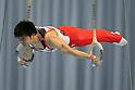 Koji Yamamuro (JPN), July 2, 2011 - Artistic Gymnastics : Koji Yamamuro performs on the rings during the Japan Cup 2011 at Tokyo Metropolitan Gymnasium, Tokyo, Japan. (Photo by Yusuke Nakanishi/AFLO SPORT) [1090]
