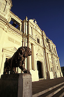 The Catedral de Leon, Nicaragua. This is the largest cathedral in Central America.