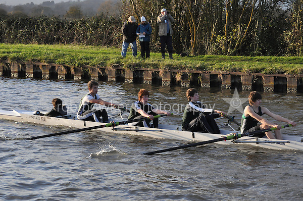508 WRG Worcester. Wycliffe Small Boats Head 2011. Saturday 3 December 2011. c. 2500m on the Gloucester Berkeley Canal
