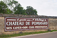 Chateau de P. Pommard, Cote de Beaune, d'Or, Burgundy, France