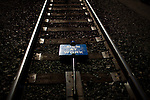 A sign at a Union Pacific repair yard in Roseville, Calif., November 8, 2011..CREDIT: Max Whittaker/Prime for The Wall Street Journal.HIRE