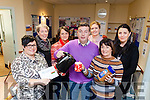 Tralee Local Employment Service will hold a coffee morning on Friday December 9th in aid of Adapt Kerry Women's Refuge. Pictured were: Kristine Sasko, Eileen Kelliher, Siobhan Coffey, Michael Crean, Elaine McKenna, Marier Dennehy and Katie Allen.