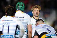 Harry Mallinder of Northampton Saints looks on after his team concede a try. Aviva Premiership match, between Bath Rugby and Northampton Saints on February 10, 2017 at the Recreation Ground in Bath, England. Photo by: Patrick Khachfe / Onside Images