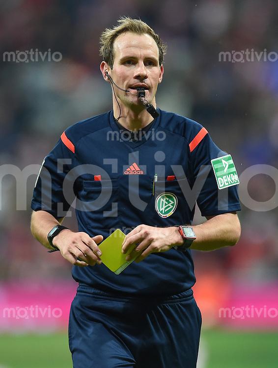 FUSSBALL  1. BUNDESLIGA  SAISON 2015/2016  24. SPIELTAG FC Bayern Muenchen - 1. FSV Mainz 05       02.03.2016 Schiedsrichter Sascha Stegemann
