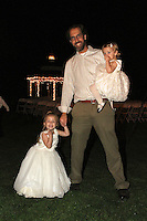 Mindy and Joel's Wedding October 14, 2011. Jason, Ilaria, Giulietta.
