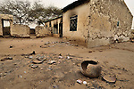 The clinic in the Darfur village of Labado, destroyed in an attack by government-aligned militias in December 2004.