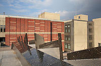 The Kunstgewerbemuseum or Museum of Decorative Arts building, opened 1985, in the Kulturforum, a collection of cultural buildings developed in the 1950s and 1960s in West Berlin, Germany. Picture by Manuel Cohen